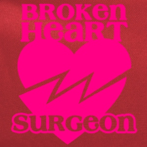 Broken heart surgeon funny design for anyone out of luck with Romance T-Shirts - Computer Backpack