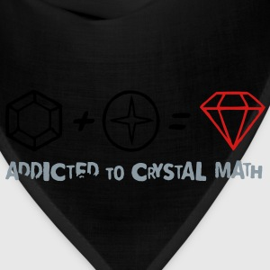 Addicted to Crystal Math Women's T-Shirts - Bandana