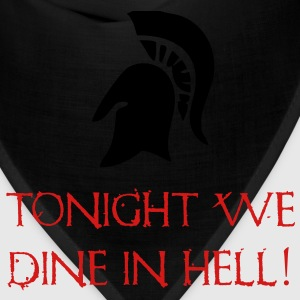 Sparta - Tonight We Dine In Hell - 300 T-Shirts - Bandana