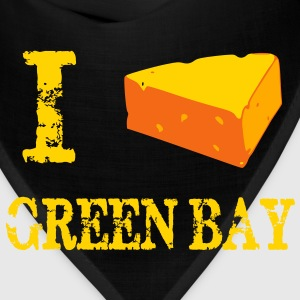 I cheesehead GB T-Shirts - Bandana