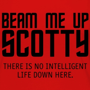 Beam Me Up Scotty - Women's Premium Long Sleeve T-Shirt