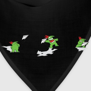Just For Laughs Kids' T - Victor Paper Airplane - Bandana