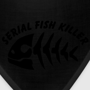 serial fish killer fish fisherman fishing - Bandana