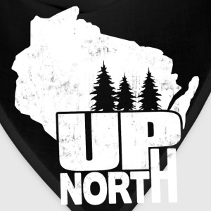 WISCONSIN UP NORTH Women's T-Shirts - Bandana