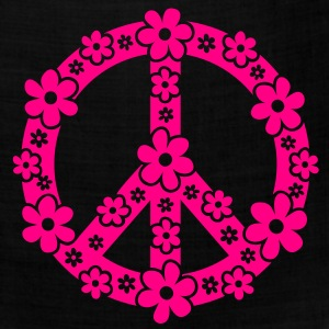 PEACE SYMBOL - peace sign, c, symbol of freedom, flower power, hippie, 68er movement, Woodstock T-Shirts - Bandana