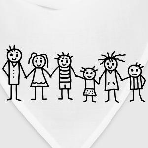 Great family  - Patchwork Family T-Shirts - Bandana