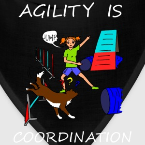 Agility Is - Coordination! Women's T-Shirts - Bandana