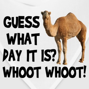 Hump Day Camel T-shirt - Bandana