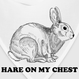 Hare on my chest T-Shirts - Bandana