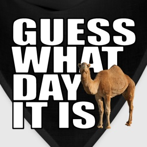 Guess What Day It Is Hump Day Camel T-shirt - Bandana