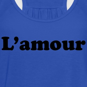 l amour T-Shirts - Women's Flowy Tank Top by Bella