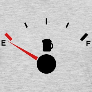 Beer tank indicator Empty  - Men's Premium Long Sleeve T-Shirt