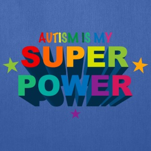 Autism Superpower T-Shirt - Tote Bag