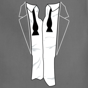 Disheveled Tuxedo Shirt - Adjustable Apron