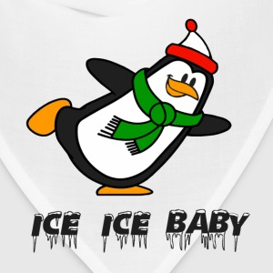 Ice Ice Baby Penguin Chilly Willy T-Shirts - Bandana