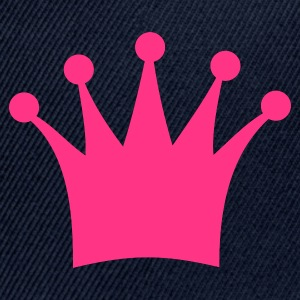 Plum crown, king, queen, prince, princess Women's T-Shirts - Snap-back Baseball Cap
