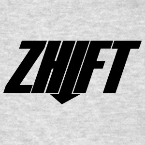 Brown ZHIFT Logo Long Sleeve Shirts - Men's T-Shirt