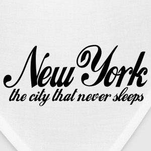White new york the city that never sleeps Hoodies - Bandana
