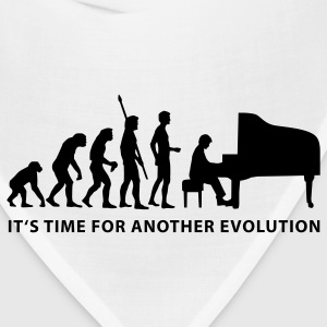 White evolution_pianist_b Kids' Shirts - Bandana