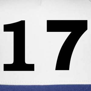 White number - 17 -seventeen T-Shirts - Trucker Cap