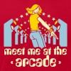 Brown Meet me at the arcade T-Shirts - Men's T-Shirt by American Apparel