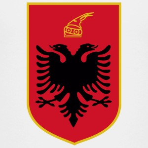 Current Official Coat of Arms of Republic of Albania - Toddler Premium T-Shirt