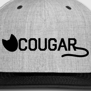 COUGAR older ladies prowling on younger men Women's T-Shirts - Snap-back Baseball Cap