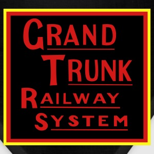 Grand Trunk Railway - Metallic Silver/Black Print (Men's) - Bandana