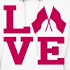 love color guard Hoodies - Women's Hoodie