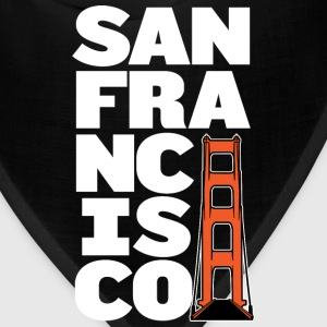 San Francisco Block Golden Gate Hoodie - Bandana