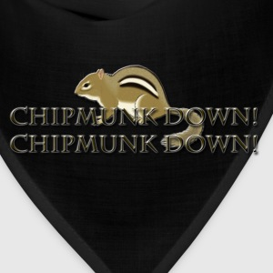 Chipmunk Down! T-Shirts - Bandana