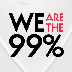 We are the 99%. Expect us.  T-Shirt - Bandana