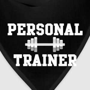 Personal Trainer Fitted Women's T-Shirt - Bandana