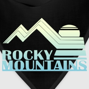 Rocky Mountains Vintage Tee - Bandana