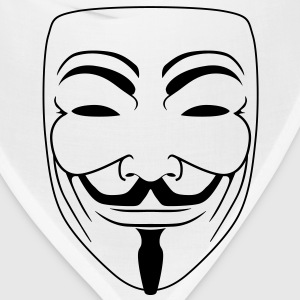 Anonymous Guy Fawks Mask _v2 Vector 1_Color - Bandana