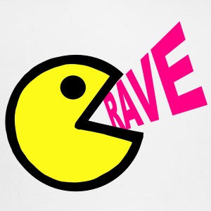 Smiley Face shouting Rave - Trucker Cap