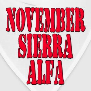 NSA November Sierra Alfa / No Strings Attached Hoodies - Bandana