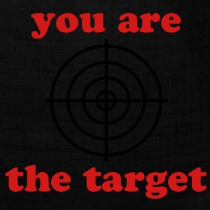 Sniper crosshairs: You are the target Women's T-Sh - Bandana
