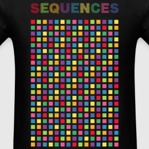 Computer light output Sequences - Men's T-Shirt