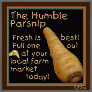 Lady's - The Humble Parsnip. Be Fresh, Pull One Out Today! - organic - Adjustable Apron