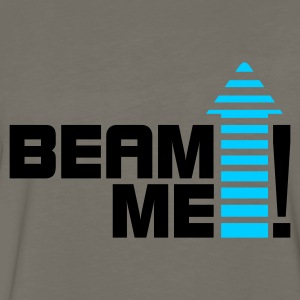 Beam me up 1_2c T-Shirts - Men's Premium Long Sleeve T-Shirt
