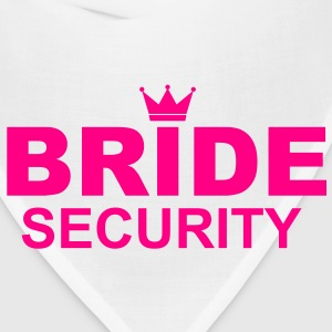 Bride Security T-Shirts - Bandana