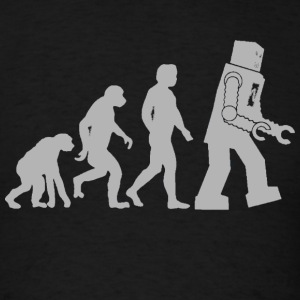 Robot Evolution - Men's T-Shirt
