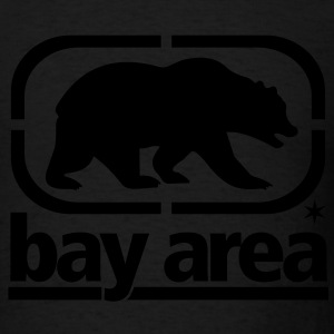 BAY AREA - BORN AND RAISED - Men's T-Shirt