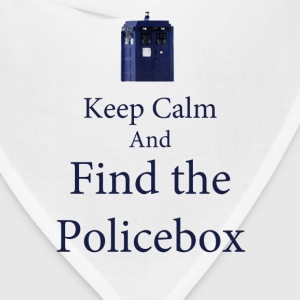 keep Calm and Find the Policebox Women's T-Shirts - Bandana
