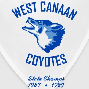 West Canaan Coyotes T-Shirt (White) - Bandana