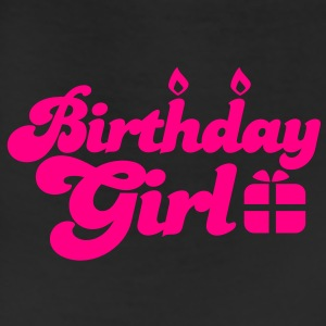 birthday girl new with present Women's T-Shirts - Leggings
