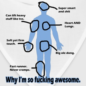 Why I'm so Fucking Awesome Women's T-Shirts - Bandana