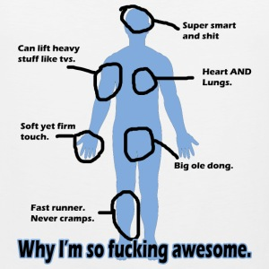Why I'm so Fucking Awesome Women's T-Shirts - Men's Premium Tank