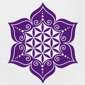 Flower of life, Lotus-Flower, vector 2, c, energy symbol, healing symbol Women's T-Shirts - Bandana